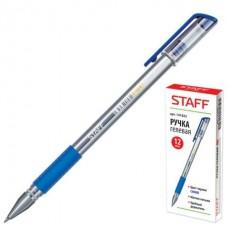 Ручка ГЕЛЕВАЯ STAFF синяя 141822