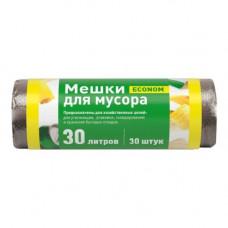 Мешок для мусора 30 л 30 шт ПНД рулон