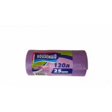 Мешок для мусора 120 л 25 шт HOUSEMAID
