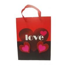 Сумка пакет подарочный 18*23*8 69099 с любовью