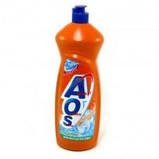 Моющее средство AOS 900 мл глицерин для посуды