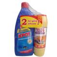 Чистящее средство КРОТпрофессионал гель от засоров 1 л + ЧИСТОЛЮБ чист.порошок с