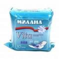 Гигиенические прокладки МИЛАНА VITA ДЕО ДРАЙ 10 шт