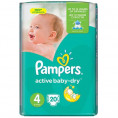 Подгузник PAMPERS ACTIVE BABY DRY 9-14 кг (20шт) №4