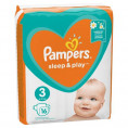 Подгузник PAMPERS SLEEP & PLAY 6-10 кг (16 шт) № 3