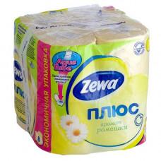 Туалетная бумага ЗЕВА 2-х слойная (8 шт) ромашка