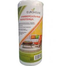 Полотенце бытовые EUROHOUSE 70 шт из нетканого материала 22*23 см