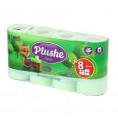 Туалетная бумага PLUSHE CLASSIC (8шт) яблоко