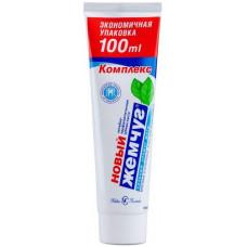 Зубная паста (Н-К) ЖЕМЧУГ 100 мл комплекс легкий аромат мяты