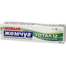 Зубная паста (Н-К) ЖЕМЧУГ 100 мл тотал 12 отбеливание от природы