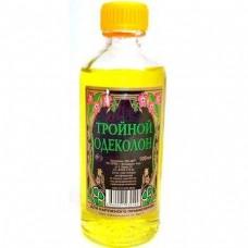 Одеколон ТРОЙНОЙ 99 мл  в упаковке 40 шт (Владикавка)