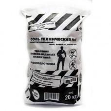 Противогололедное средство ROCKMELT 20 кг техническая соль