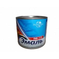 Краска ЭМАЛЬ ПФ115 -ЭКО- бордовая 1.9 кг