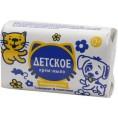 Мыло (САМАРА) ДЕТСКОЕ 90 гр Крем с д-пантенолом