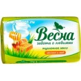Мыло (САМАРА) ВЕСНА 90 гр молоко мед
