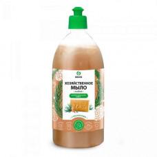 Мыло ХОЗЯЙСТВЕННОЕ ЖИДКОЕ GRASS 500 мл антибактериальный эффект 72% с маслом кед