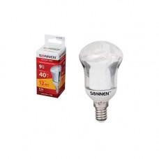 Лампа люминесцентная SONNEN Т2 40 Вт Е14 энергосберегающая