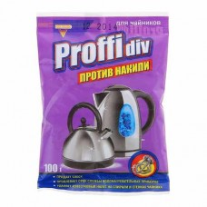 Средство против накипи PROFFIDIV 100 гр для чайников