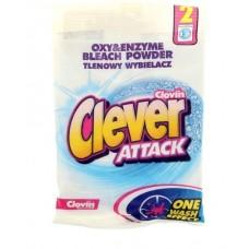 Отбеливатель CLEVERATTACK 60 гр (2 стирки)