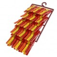 Прищепки бельевые КУБАНОЧКА (45 шт)  на подвеске