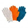 Перчатки НЕЙЛОНОВЫЕ с ПВХ ТОЧКА комплект 3 шт цветные размер ХL , 67853
