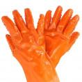 Перчатки Р-9 плотный латекс оранжевые