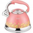 Чайник 3 л Z-4249 с-св розовый