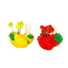 набор ДЛЯ КАНАПЕ 69727 фрукты + зубочистки