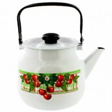 Чайник ЭМАЛИРОВАННЫЙ 2 л  Б-СВ 42704-102-6 белый