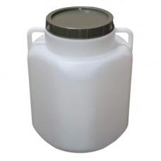 Бидон пласт. пищевой 40 л (РУМЫНИЯ) квадратный