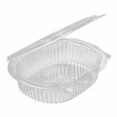Посуда одноразовая МИСКА 500 мл черная с крышкой