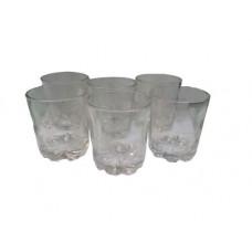 Набор стаканов 6 шт Снежинка