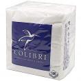 Салфетки COLIBRI 100шт белые Стандарт