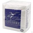 Салфетки COLIBRI 100шт белые Люкс