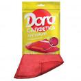 Салфетка из микрофибры DORA 17*15 см (1 шт) антижир