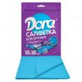 Салфетка из микрофибры DORA 18*18 см (1 шт) для оптики