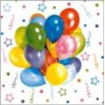 Салфетки BOUGUET DE LUXE 25 шт 3 слоя Веселый праздник 37093