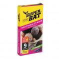 Пластины от моли SUPER BAT 9 шт +2 крючка лаванда