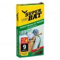 Пластины от моли SUPER BAT 9 шт +2 крючка хвоя