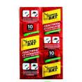 Пластины SUPER BAT 10 шт красный от комаров и мух
