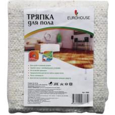 Тряпка для пола EUROHOUSE 50*60 см белая