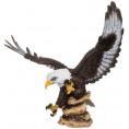 Фигурка для сада ОРЕЛ крылья