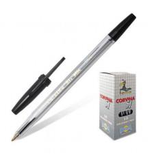 Ручка ШАРИКОВАЯ CORVINA 51 classic 40163-01 черная 140301