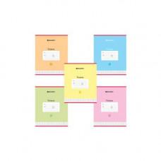 Тетрадь 24 л BRAUBERG клетка картон пастельная 402807