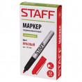 Маркер красный STAFF 151235 2 мм