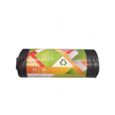 Мешок для мусора 30 л 15 шт EUROHOUSE 13153 ПВД